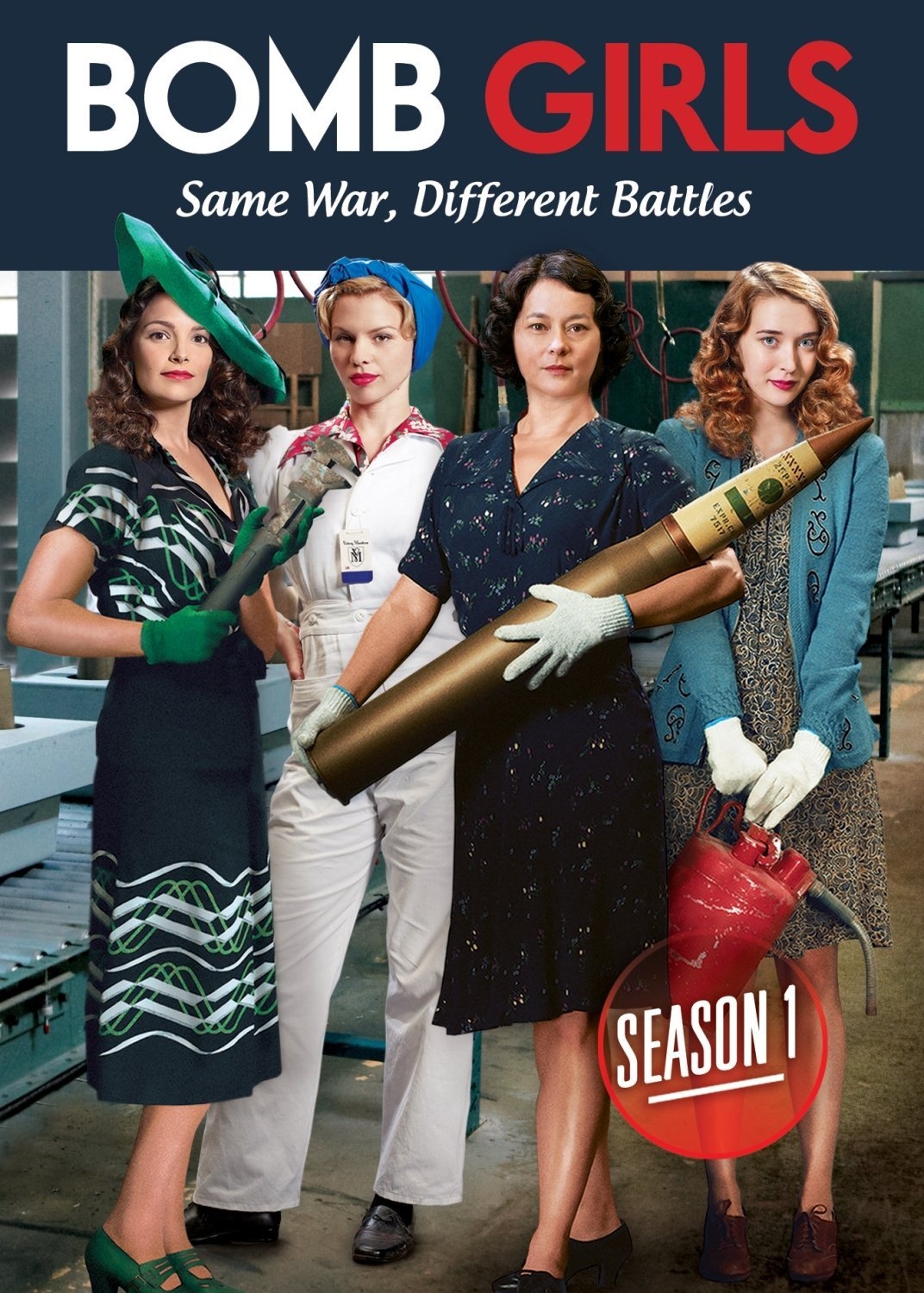 Watch Movie Bomb Girls - Season 1