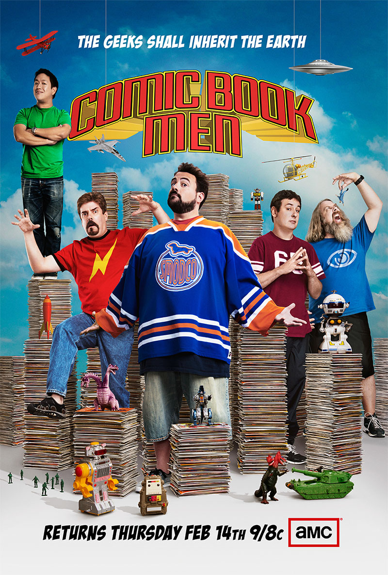 Watch Movie Comic Book Men - Season 2