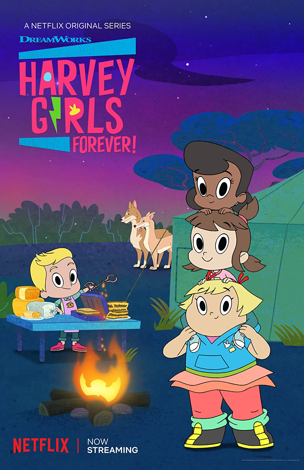 Watch Movie Harvey Girls Forever! - Season 3
