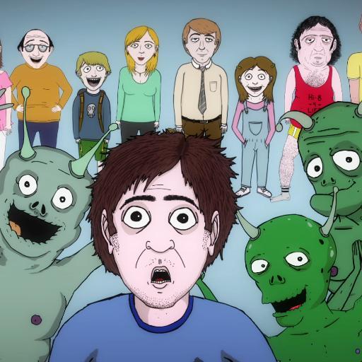 Watch Movie Jeff & Some Aliens