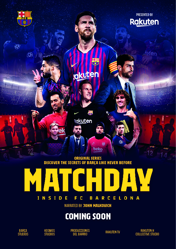 Watch Movie Matchday - Inside FC Barcelona - Season 1