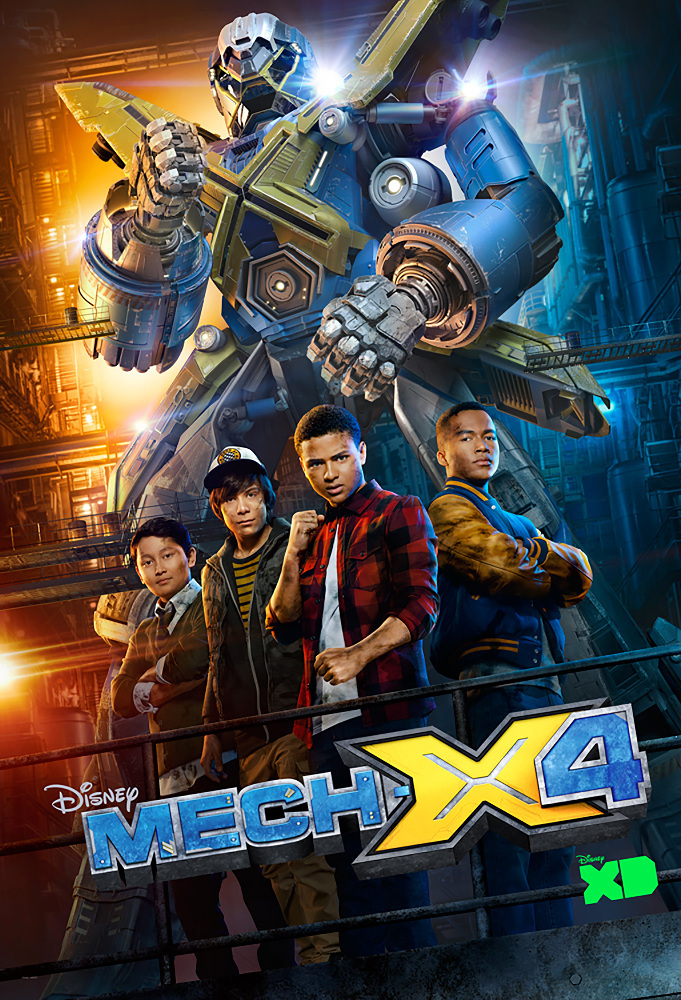 Watch Movie MECH-X4 - Season 1