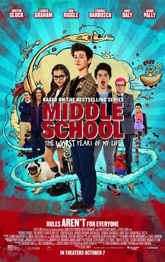 Watch Movie Middle School: The Worst Years of My Life