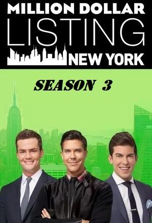 Watch Movie Million Dollar Listing New York - Season 3
