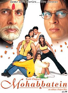 Watch Movie Mohabbatein