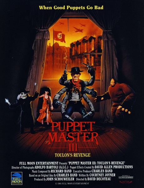 Watch Movie Puppet Master 3: Toulons Revenge