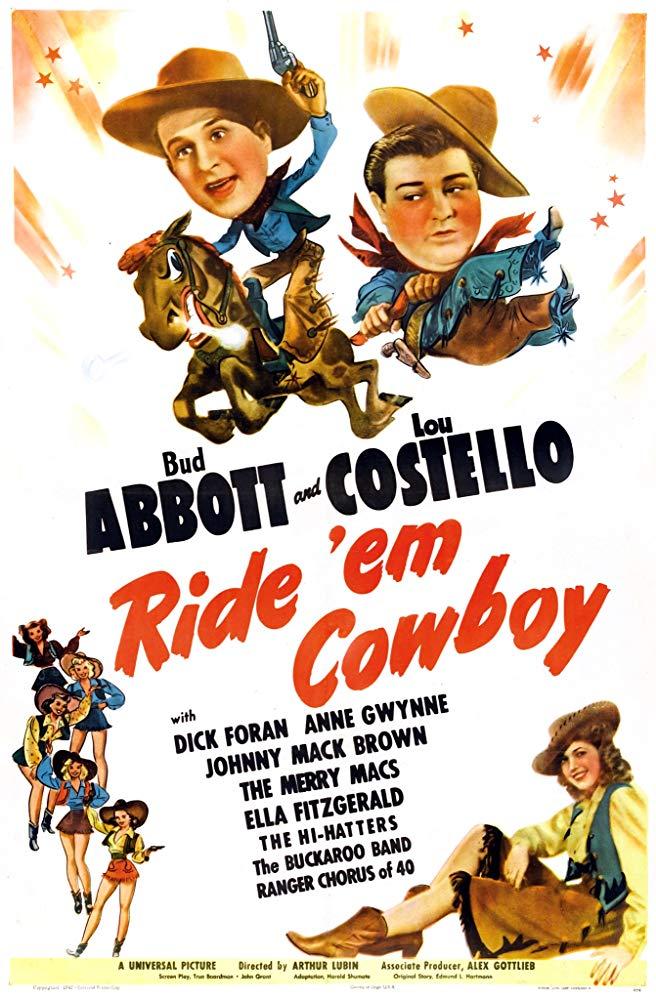 Watch Movie Ride 'Em Cowboy