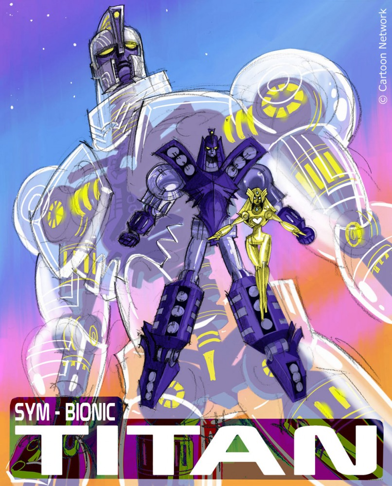 Watch Movie Sym-Bionic Titan
