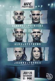 Watch Movie UFC on Fox: Alvarez vs. Poirier 2