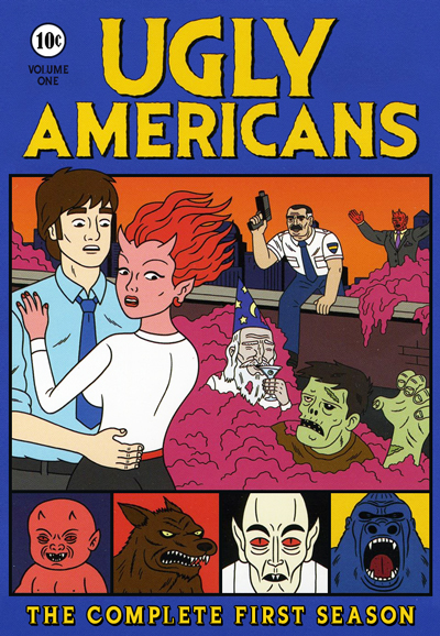 Watch Movie Ugly Americans - Season 1