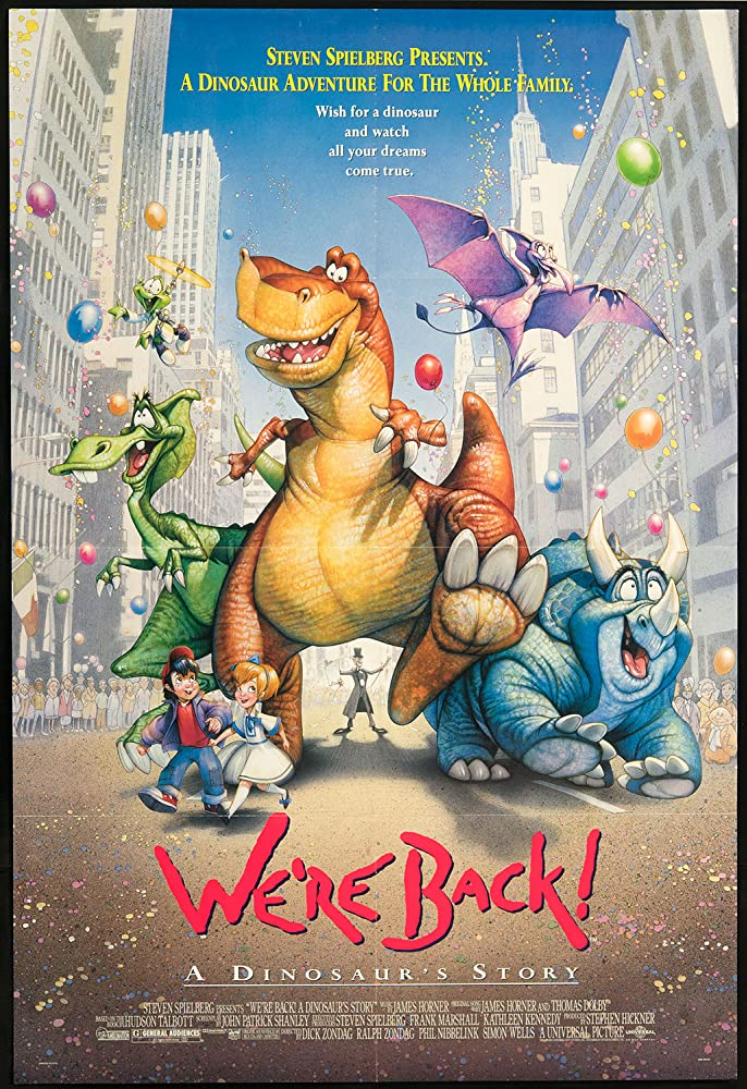 Watch Movie We're Back! A Dinosaur's Story